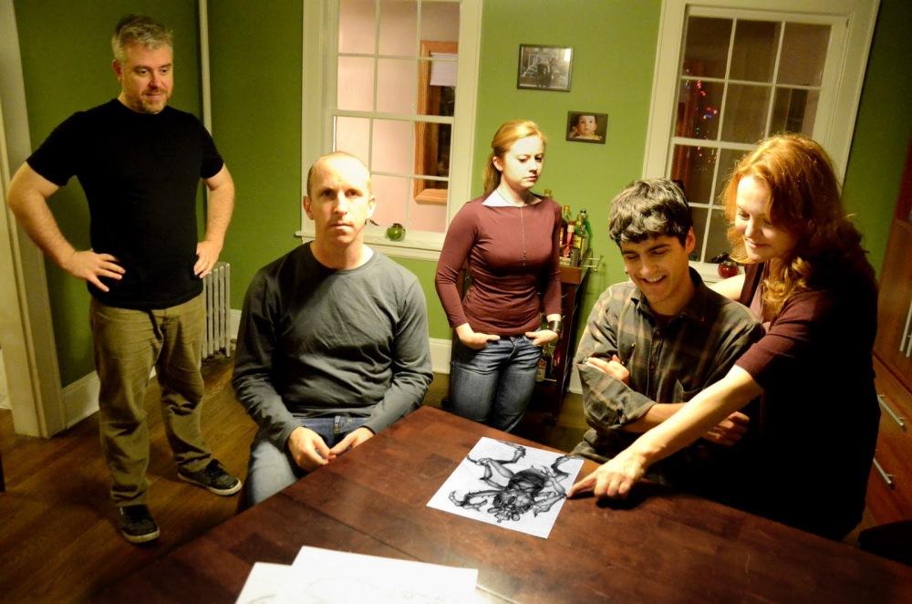 Advance Man featuring Sean Williams, Jason Howard, Becky Byers, David Rosenblatt, & Kristen Vaughan Photo credit Deborah Alexander[1]