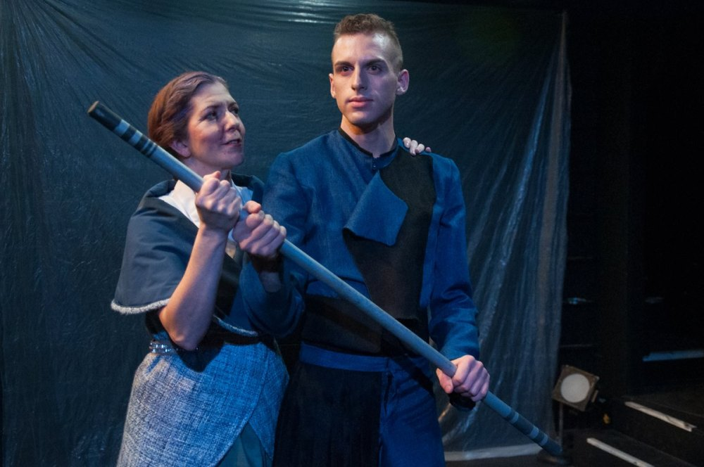 #Coriolanus featuring Madeline Reed and Russell Peck Photo credit Bailey Carr
