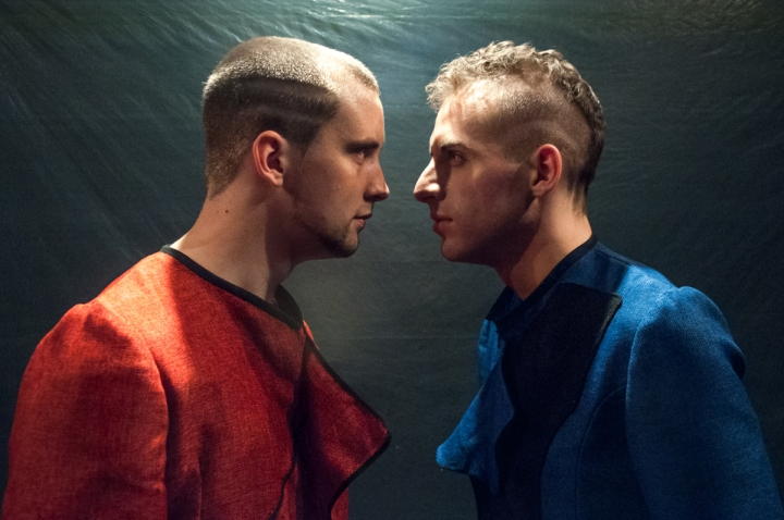 #Coriolanus featuring Martin Boersma and Russell Peck photo credit Bailey Carr