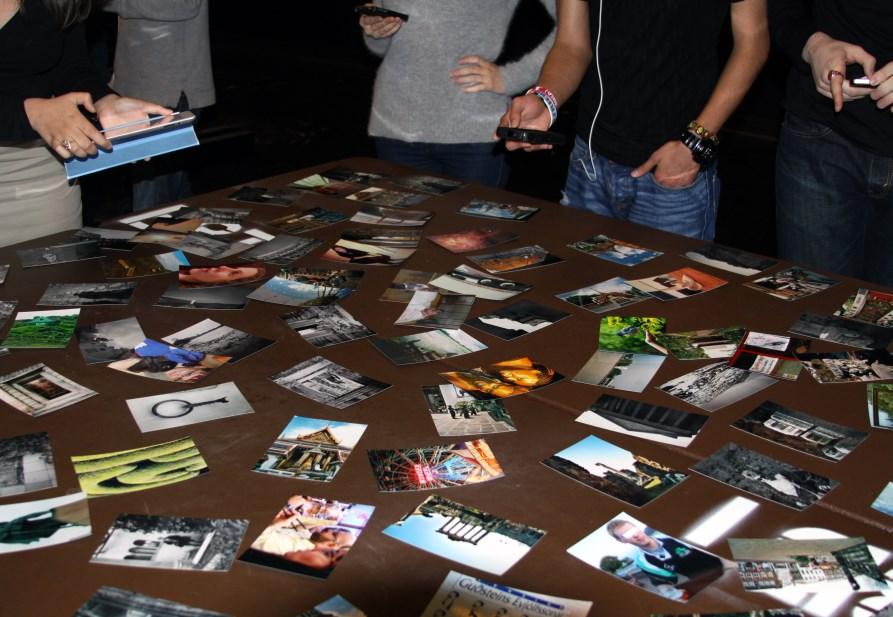 The Photo Album Table