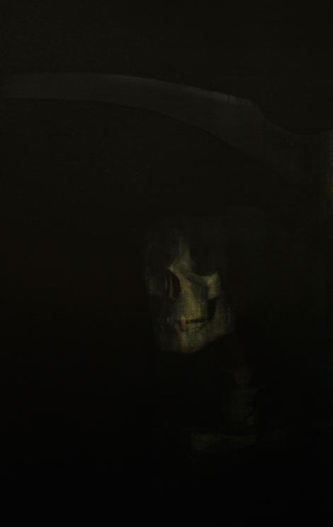 "Moon #19 Painting: ""The Untitled"" by Larissa Tokmakova"