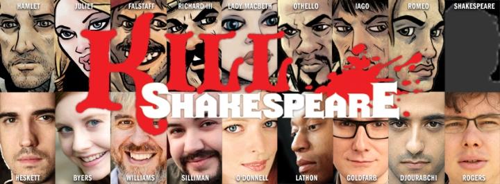 Kill Shakespeare banner